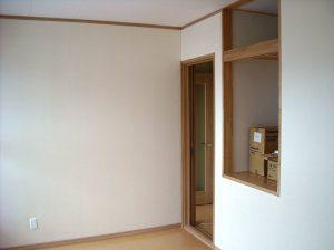 二重ドアの写真