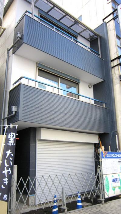 狭小地3階建二世帯の耐震住宅(埼玉県川口市)