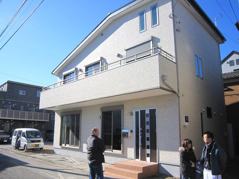 耐震性にこだわった埼玉県蕨市の耐震住宅