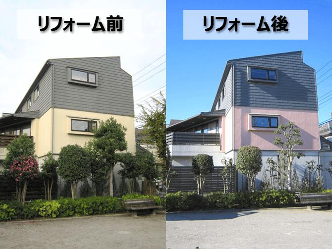 埼玉県さいたま市の外壁塗装事例
