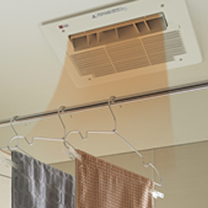 NORITZの温水式浴室暖房換気乾燥機