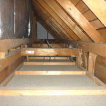 屋根裏から耐震診断
