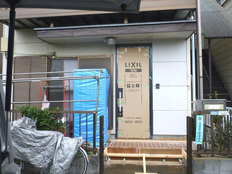 耐震性不足住宅の耐震リフォーム(埼玉県蕨市)