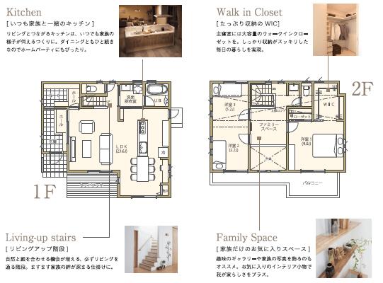 注文住宅のモデルプランA