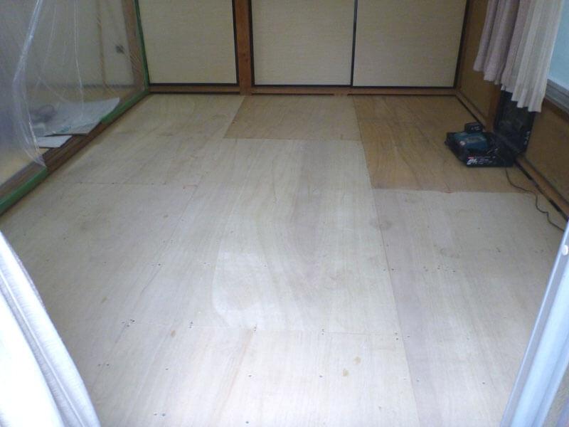 埼玉県川口市の畳床リフォーム