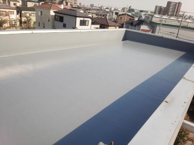 埼玉県さいたま市の屋上防水リフォーム事例・リフォーム後