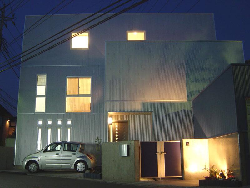 テクノストラクチャーで建築された家