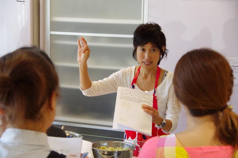 料理教室の風景