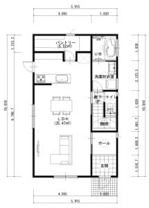 建築プラン(例)1階
