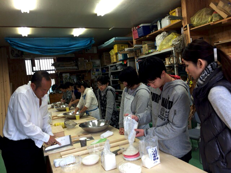 【開催レポート】そば打ち教室@川口市(11月23日開催)