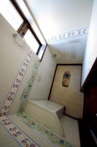 リフォーム中のトイレの様子