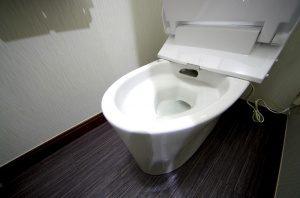 リフォーム後のトイレの便器