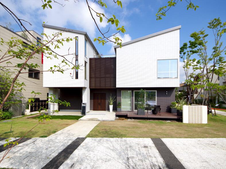 住宅展示場モデルハウス(テクノストラクチャーによる耐震住宅)新築