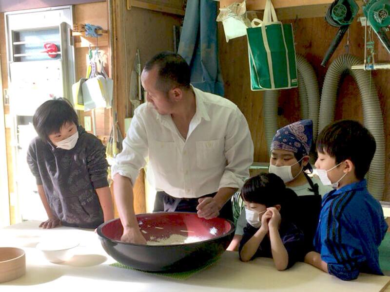 12/23(金・祝日)そば打ち教室の開催報告