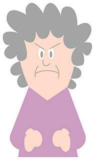 外壁塗装のトラブルで怒る女性