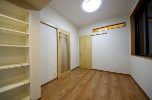 増築後の書斎スペース